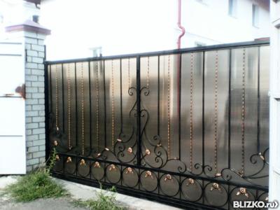 Откатные ворота казань закладной под откатные ворота