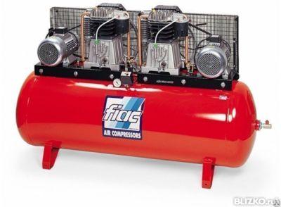 Продам промышленный компрессор fiac (италия) производительность 400 л/мин максимальное давление 10 кгс/см