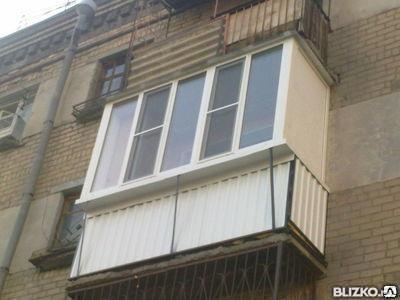 Балконы с выносом под ключ от компании легпром купить в горо.