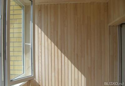 Обшивка балкона евровагонкой с утеплением в екатеринбурге - .