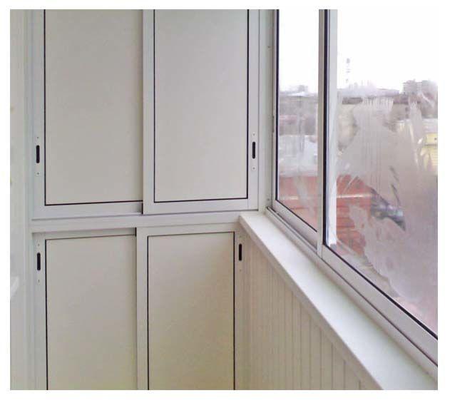 Шкаф на балкон - королевские окна.