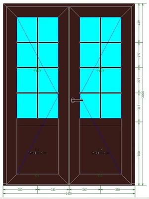 дверь 2 створки входная цена