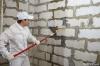 Стартовая грунтовка стен ( 1 слой )