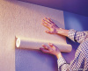 Оклейка стен бумажными обоями без подбора