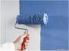 Окраска стен валиком ( 2 слоя )