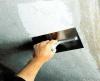 Штукатурка потолка до 3 см гипсовой штукатуркой