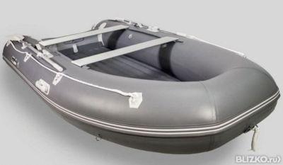 лодка gladiator c330al темно-серая