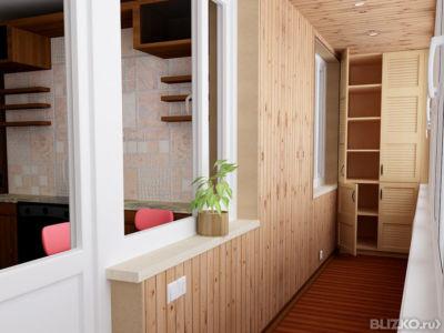 Предложение: утепление, остекление, отделка балконов в нижне.
