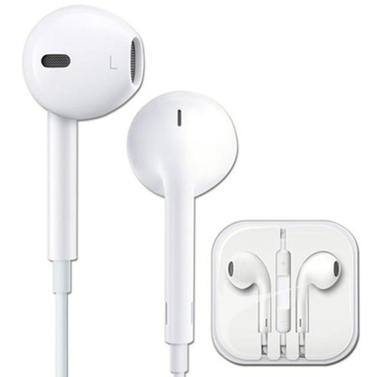 Наушники гарнитура iPhone EarPods (оригинал 3.5 мм) - Купить ... 1b1fbdb2a9292